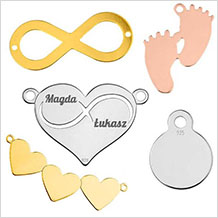 Engravable Charms
