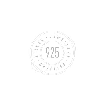 Ozdobne sztyfty dwukolorowe - z kwiatkiem, srebro 925 SZ 145