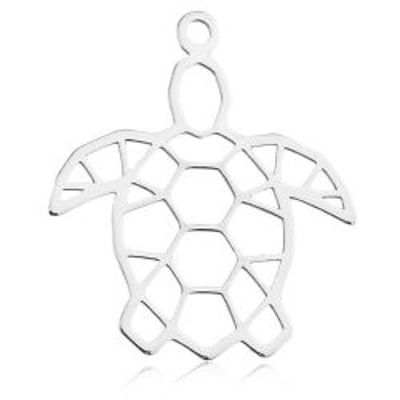 Zawieszka Żółw Origami, srebro 925 BL 626