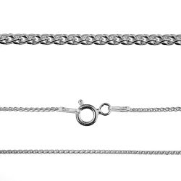 Łańcuszek srebrny - bransoletka, próba 925 18 cm