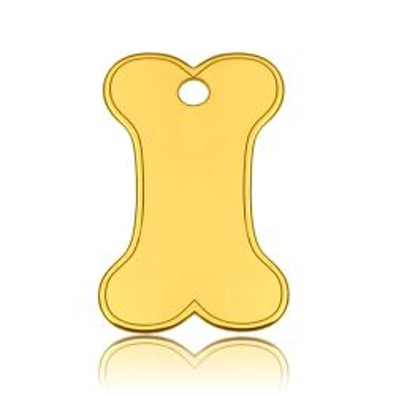 Zawieszka Kość, złoto próby 585