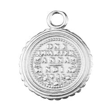 Zawieszka Moneta, srebro 925 S-CHARM 585