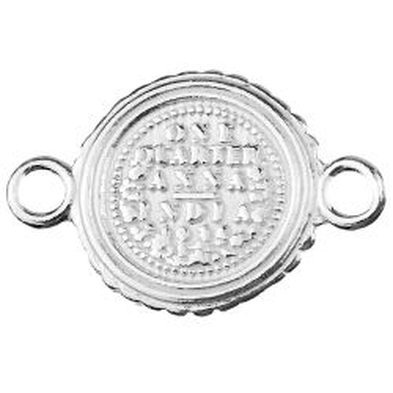 Łącznik Moneta, srebro 925 S-CHARM 586